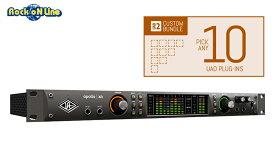 Universal Audio(ユニバーサルオーディオ) Apollo X6 / Custom 10 Upgrade【DTM】【オーディオインターフェイス】