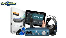 【8月下旬以降入荷予定】PreSonus(プリソーナス) AudioBox iTwo Studio【DTM】【オーディオインターフェイス】