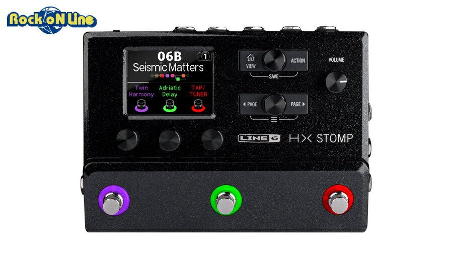 【クーポン配布中!】Line 6(ラインシックス) HX STOMP【ギターアンプ(Amp)・シミュレーター】【ギターエフェクター】【人気商品につき次回入荷未定、ご予約受付中】