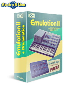 UVI(ユーブイアイ) Emulation II【※シリアルPDFメール納品】【DTM】【シンセサイザー】