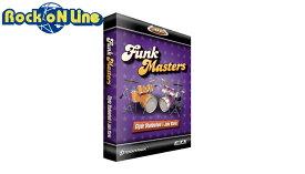 【クーポン配布中!】TOONTRACK(トゥーントラック) EZX Funkmasters【DTM】【ドラム音源】