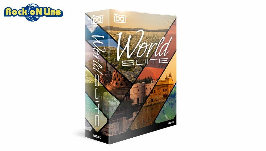 UVI World Suite【※シリアルPDF納品につき代引不可】【★在庫限り!30%OFF!】