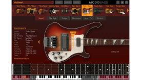 【クーポン配布中!】IK Multimedia(アイケーマルチメディア) MODO BASS 【MODO Monthプロモーション特価、期間延長9月末まで!】【DTM】【ソフトシンセ】【ベース音源】
