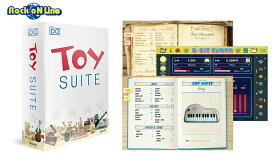 UVI(ユーブイアイ) Toy Suite【在庫限り特価!】【※シリアルPDFメール納品】【DTM】