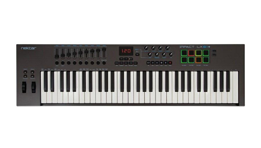 【クーポン配布中!】NEKTAR(ネクター) IMPACT LX61+【DTM】【MIDIキーボード】