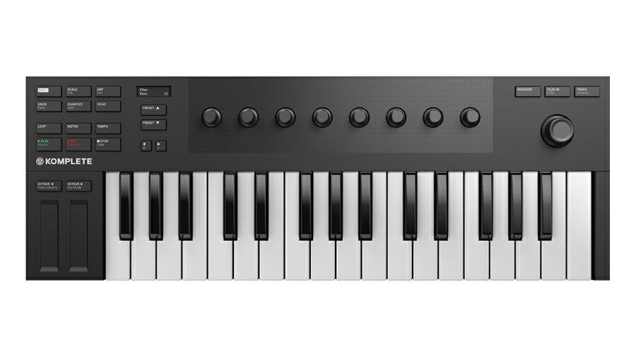 【クーポン配布中!】Native Instruments(ネイティブインストゥルメンツ) KOMPLETE KONTROL M32【DTM】【MIDIキーボード】