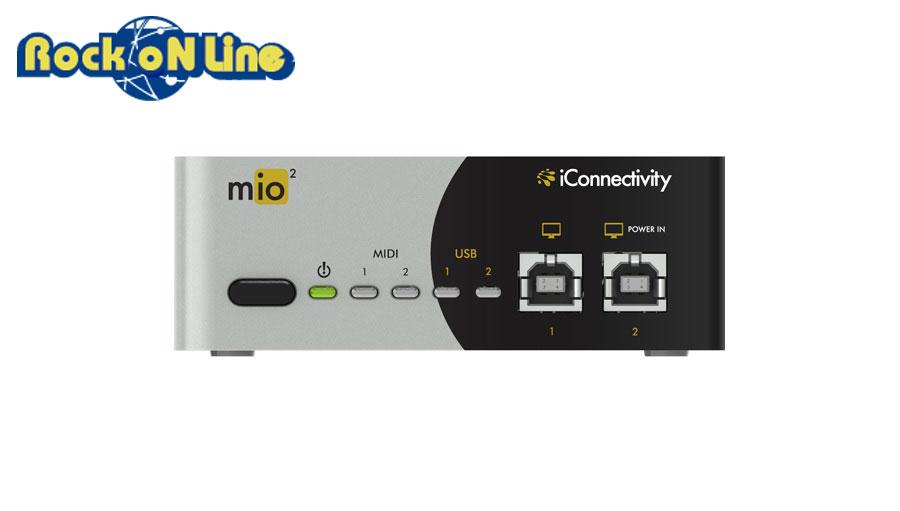 【クーポン配布中!】iConnectivity(アイコネクティビティ) mio2【DTM】【MIDIインターフェイス】