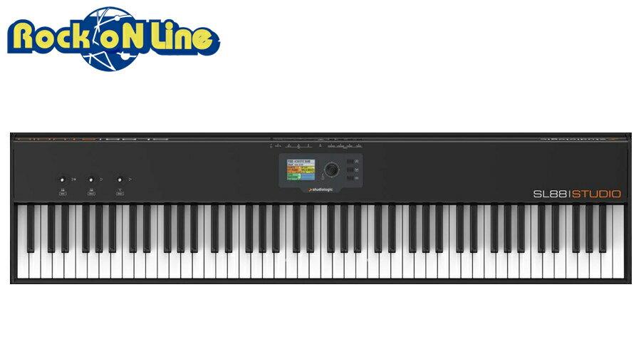 【クーポン配布中!】Studiologic(スタジオロジック) SL88 STUDIO【UVI Grand Piano Model Dプレゼント!】【MIDIキーボード】【マスターキーボード】