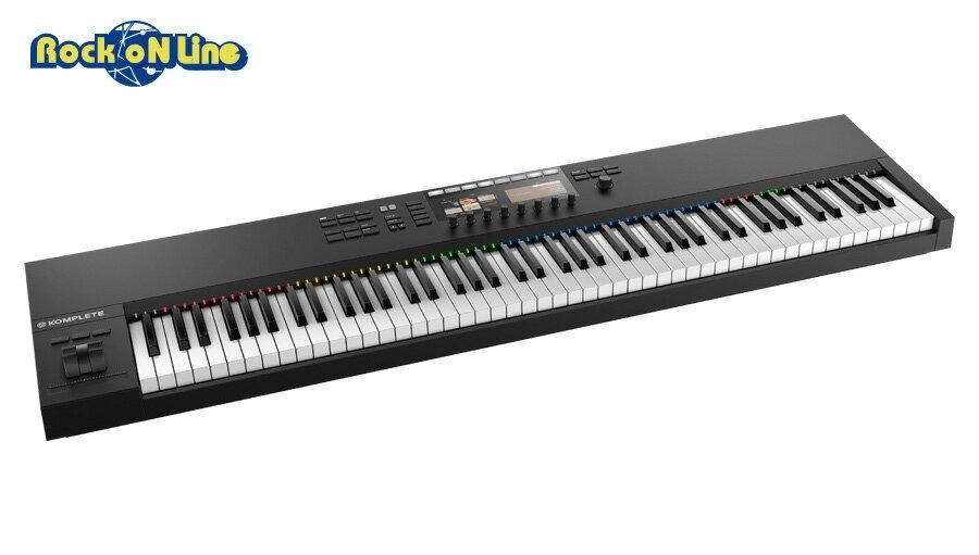 【クーポン配布中!】Native Instruments(ネイティブインストゥルメンツ) KOMPLETE KONTROL S88 MK2【MIDIキーボード】【マスターキーボード】