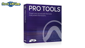 【クーポン配布中!】Avid(アビッド) Pro Tools Perpetual License NEW (ProTools永続版)【DTM】
