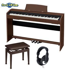 CASIO(カシオ) PX-770BN(オーク) ヘッドホン+椅子セット【電子ピアノ】【88鍵盤】