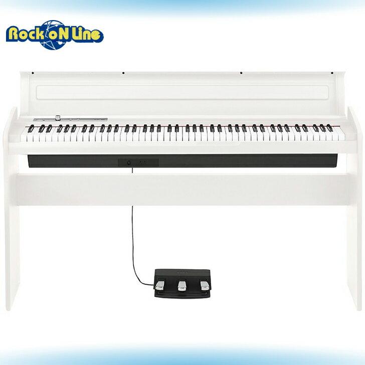【クーポン配布中!】KORG(コルグ) LP-180 WH(ホワイト)【電子ピアノ】