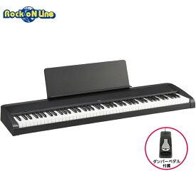 KORG B2 BK(ブラック)【電子ピアノ】【88鍵盤】