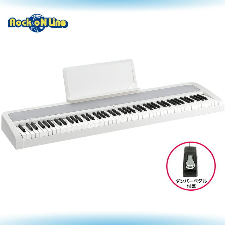【クーポン配布中!】KORG(コルグ) B1 WH DIGITAL PIANO(ホワイト)【電子ピアノ】【88鍵盤】