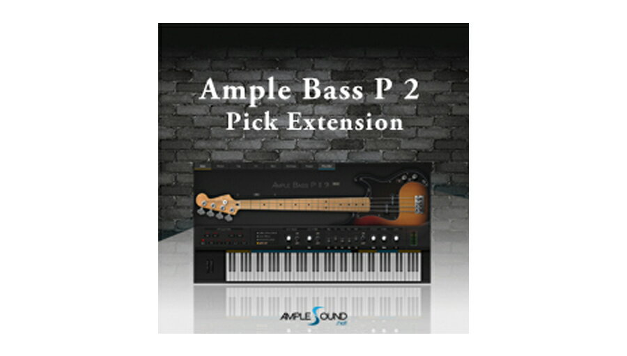 【D2R】AmpleSound AMPLE BASS P 2 Pick Extension