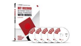 WAVES(ウェイブス/ウェーブス) Hit Record With WAVES(日本語版)【DTM】【エフェクトプラグイン】