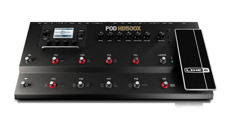 【クーポン配布中!】Line 6(ラインシックス) POD HD500X【ギターアンプ(Amp)・シミュレーター】【ギターエフェクター】