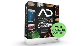 xlnaudio(エックスエルエヌオーディオ) Addictive Drums 2 Custom 【※シリアルPDFメール納品】【数量限定特価!】【DTM】【ドラム音源】