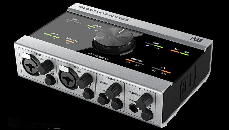 【クーポン配布中!】Native Instruments(ネイティブインストゥルメンツ) KOMPLETE Audio 6【DTM】【オーディオインターフェイス】