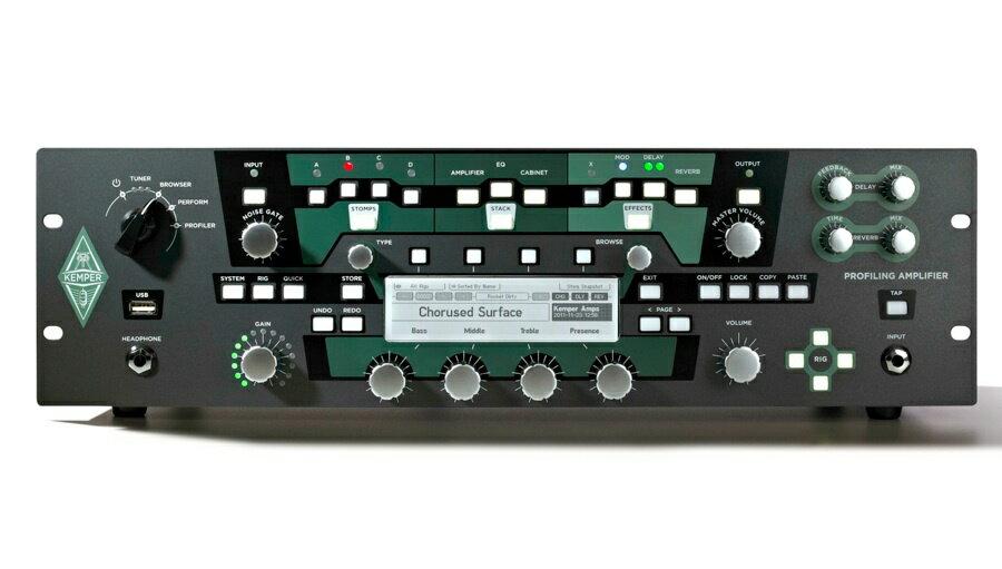 【エントリーでポイント3倍!】KEMPER(ケンパー) Profiler Rack 【ギターアンプ(Amp)・シミュレーター】