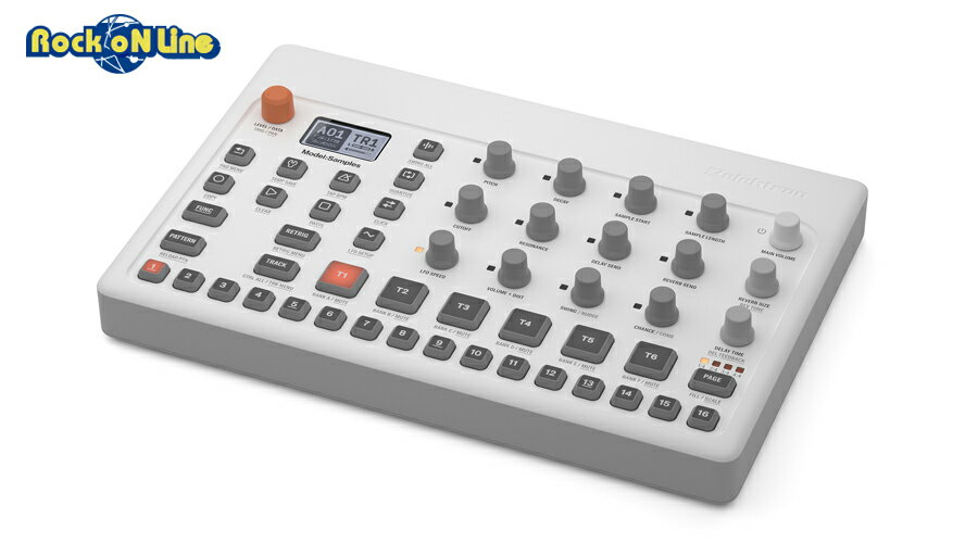 【クーポン配布中!】ELEKTRON(エレクトロン) Model:Samples【ドラムマシン&サンプラー】