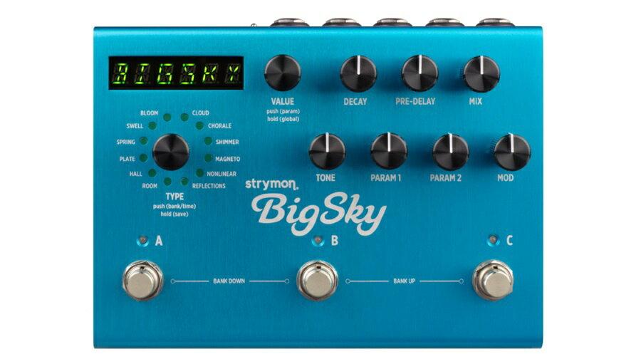 【クーポン配布中!】Strymon(ストライモン) Big Sky【ギターエフェクター】