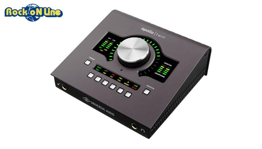 """【クーポン配布中!】Universal Audio(ユニバーサルオーディオ) APOLLO TWIN MKII / DUO【DTM】【オーディオインターフェイス】【エフェクトプラグイン】【ギター】【Universal Audio Apollo Twin + Arrow """"Make Hits at Home"""" プロモーション】"""