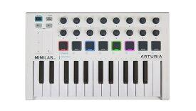 Arturia(アートリア) MINILAB MK2【代理店確認後、納期ご案内】【MIDIコントローラー】