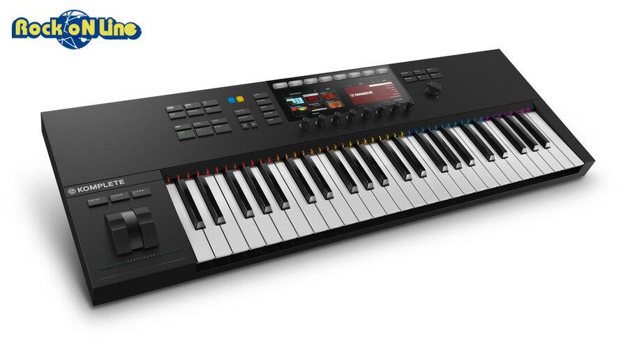 【クーポン配布中!】Native Instruments(ネイティブインストゥルメンツ) KOMPLETE KONTROL S49 MK2【DTM】【MIDIキーボード】