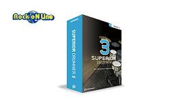 TOONTRACK(トゥーントラック) SUPERIOR DRUMMER 3 / BOX【DTM】【ドラム音源】