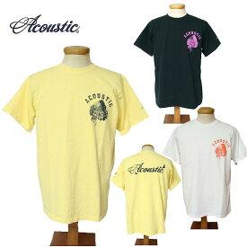 【SALE・セール】 アコースティック Tシャツ ACOUSTIC メンズ SKULL INDIAN 半袖Tシャツ ac9206