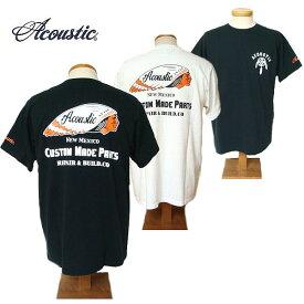 【SALE・セール】 アコースティック Tシャツ ACOUSTIC メンズ Custom Made Parts 半袖Tシャツ ac9203
