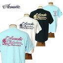 【SALE・セール】 アコースティック Tシャツ ACOUSTIC メンズ Native Force 半袖Tシャツ ac9207