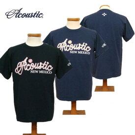 【SALE・セール】 アコースティック Tシャツ メンズ ACOUSTIC ROPE LOGO 半袖Tシャツ ac7201