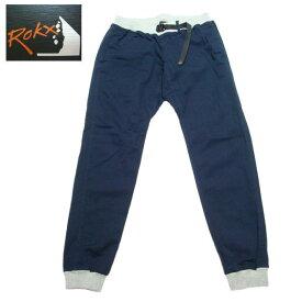 ロックス ROKX エムジーウッドパンツ ストレッチ クライミングパンツ メンズ リブパンツ RXMS191020 ネイビー
