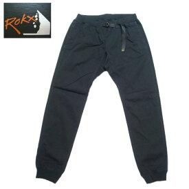 ロックス ROKX エムジーウッドパンツ ストレッチ クライミングパンツ メンズ リブパンツ RXMS191020 ブラック