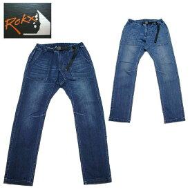 【2019秋冬】 ロックス ROKX クライミングパンツ メンズ DENIM FATIGUE PANT ストレッチ デニム パンツ RXMS191008