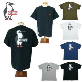 チャムス Tシャツ メンズ CHUMS Booby Logo T-Shirt 半袖Tシャツ CH01-1835