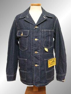SUGAR CANE shugakenkabaoru 11盎司粗斜纹布工作大衣sc13823