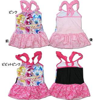 人物游泳衣幸福充值之前治疗!(Happiness Charge Precure!) 供女儿使用的连衣裙游泳衣2237944