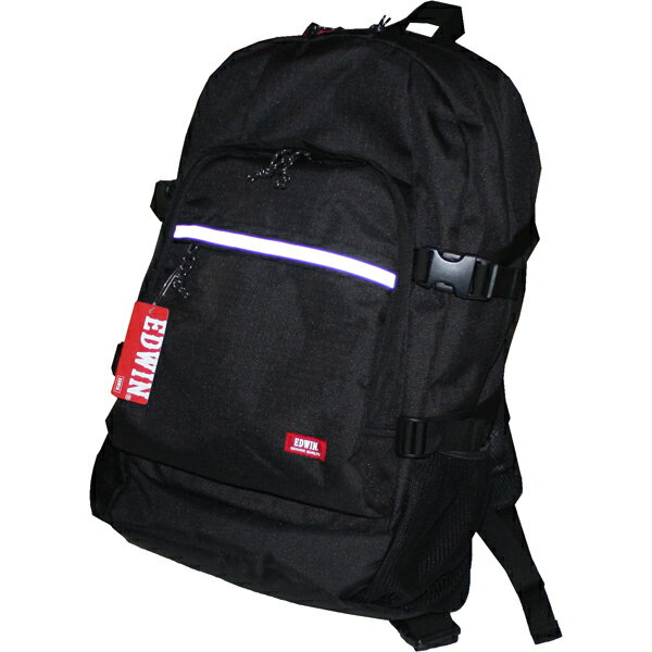 EDWIN(エドウィン) デイパック 0411305 ブラック 30L(50×33×16cm) 黒 クロ リュックサック バックパック バッグ