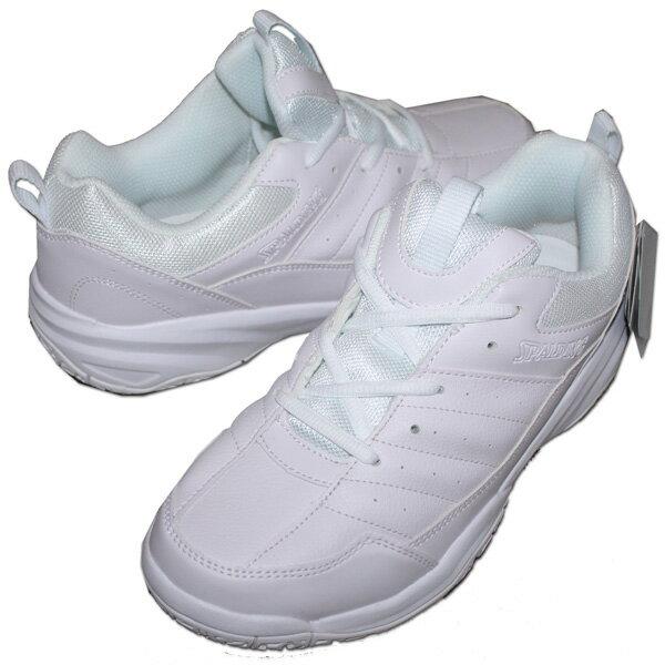 アキレス SPALDING(スポルディング) 運動靴 通学靴 スポーツシューズ CS-207 [ホワイト] 白