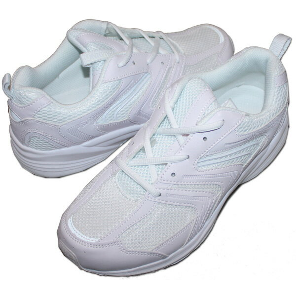 アキレス SPALDING(スポルディング) 運動靴 通学靴 スポーツシューズ JN-201 [ホワイト] 白