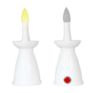 神棚用LEDローソク 1対(2本) 約10分点灯後自動消灯(タイマー機能付き) 電池式 【あす楽対応】 神棚用神具 LED蝋燭