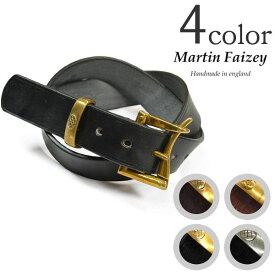 【期間限定!クーポンで10%OFF】MARTIN FAIZEY (マーティンフェイジー)1.5インチ(38mm)クイックリリースベルト レザーベルト / メンズ / 英国製/1.5 INCH QUICK RELEASE BELT