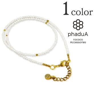phaduA (PA DUA) baby Pearl wrap Bracelet (1.5 mm) and Freshwater Pearl Womens / MINI PEARL WRAP BRACELET