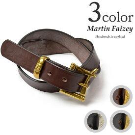 【期間限定!クーポンで10%OFF】MARTIN FAIZEY (マーティンフェイジー) 1.25インチ(30mm)クイックリリースベルト レザーベルト / メンズ / 英国製 / 1.25 INCH QUICK RELEASE BELT