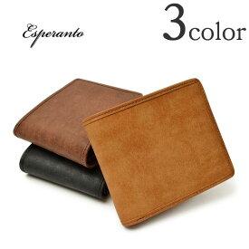 ESPERANTO(エスペラント) プエブロ レザー パイピングショートウォレット / 二つ折り / 革 / 財布 / メンズ / PUEBLO PIPING SHORT WALLET / ESP-6209 / 日本製