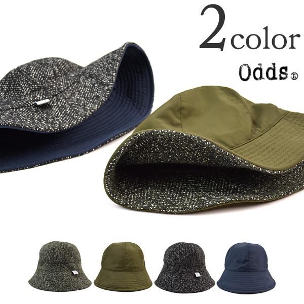【ギフトクーポン対象】ODDS(オッズ) ナイロン ツイード ハット / リバーシブル / レディース メンズ / NYLON TWEED HAT