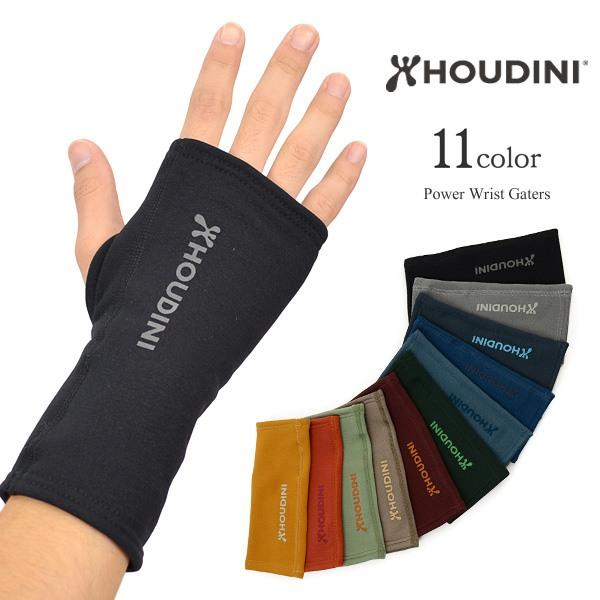 HOUDINI (フディーニ/フーディニ) パワーリストゲーター / フリース手袋 / グローブ / 指なし / メンズ レディース / POWER WRIST GAITERS
